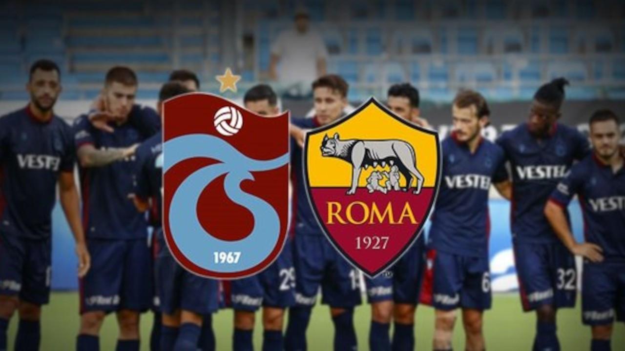 Trabzonspor-Roma maçı şifresiz yayınlanacak