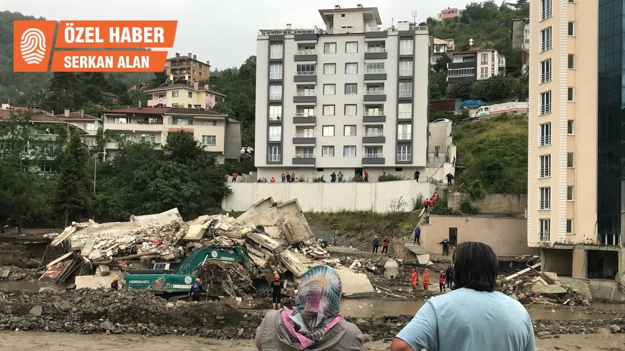Bozkurt'taki felaket: Sahil ölü insan dolu