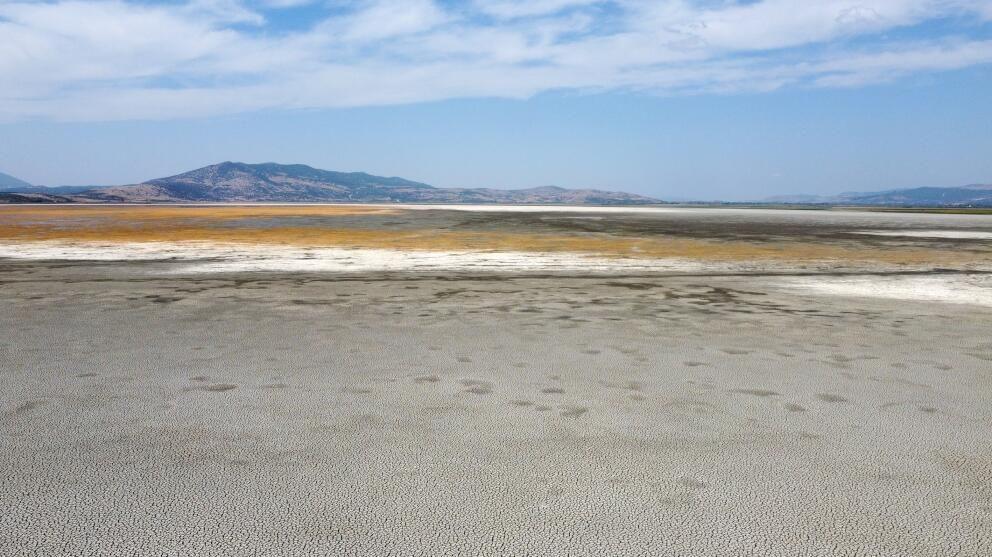 Manisa'daki Marmara Gölü kuraklığın pençesinde - Sayfa 4