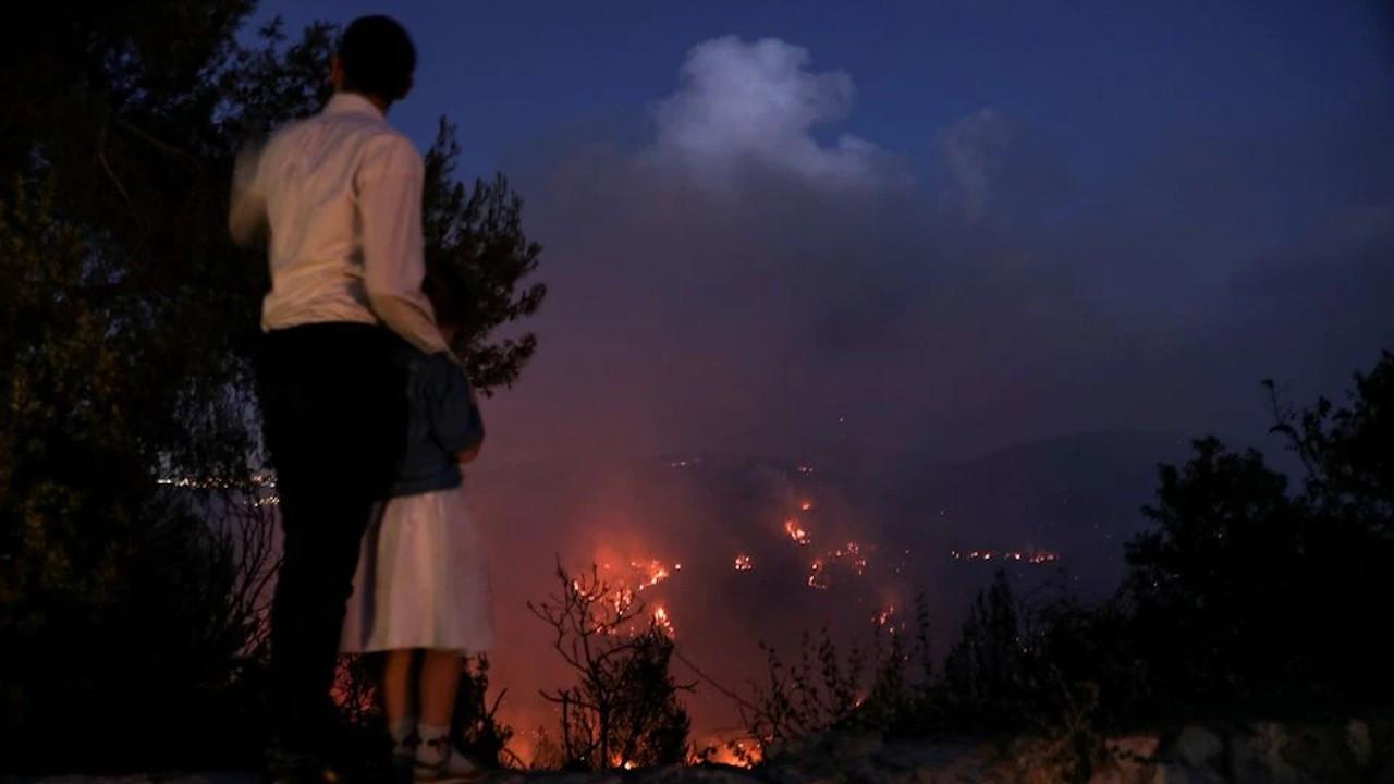 İsrail, Batı Kudüs'teki yangınlar için yardım çağrısında bulundu