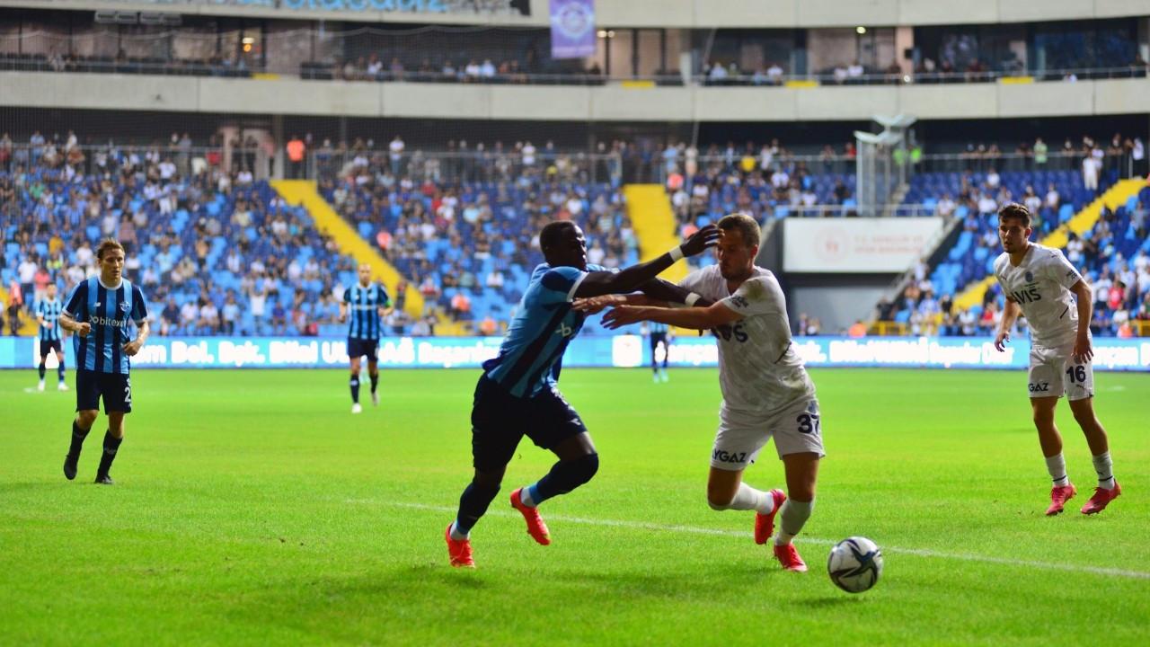 Fenerbahçe, Adana Demirspor'u Özil'in golüyle 1-0 mağlup etti