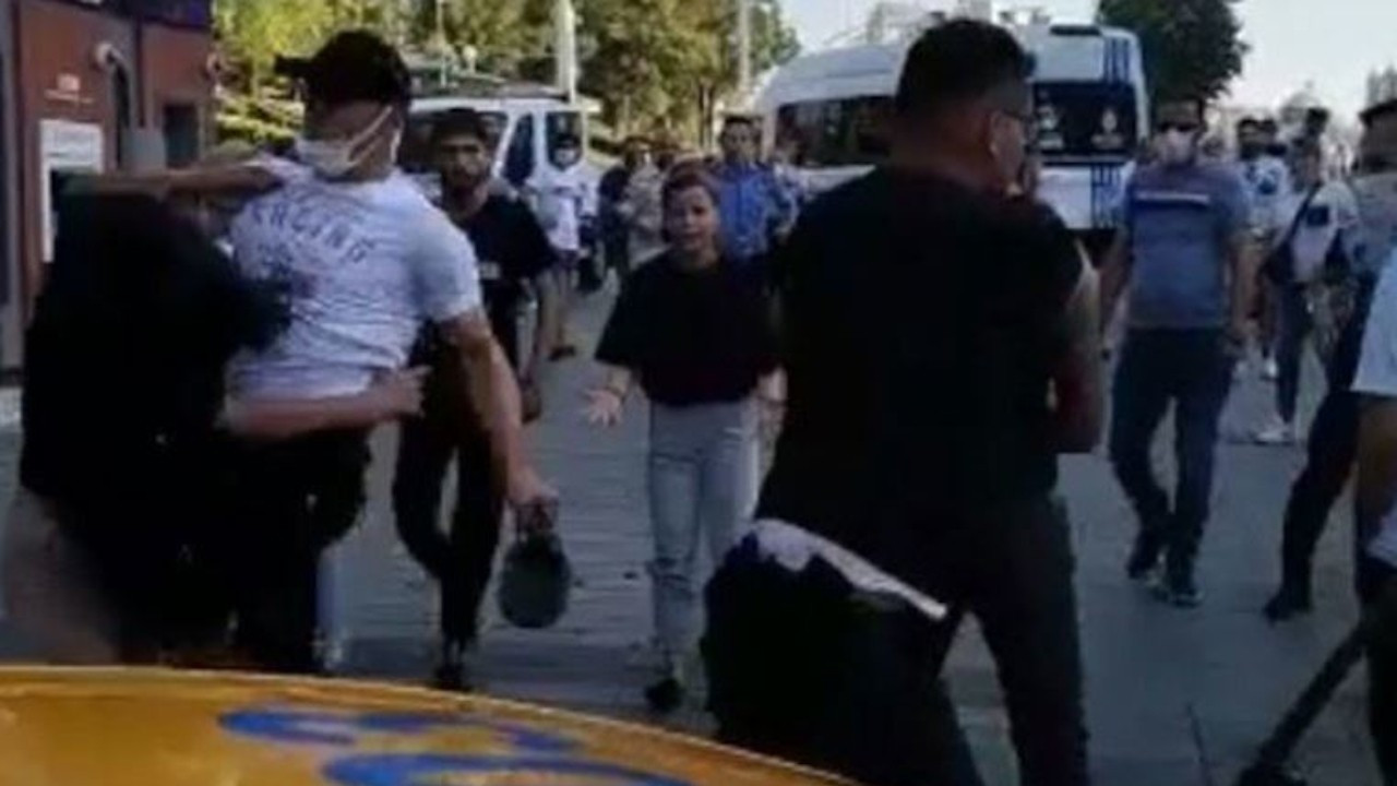 Taksim'de bir kadını darp eden İBB personelinin görevine son verildi