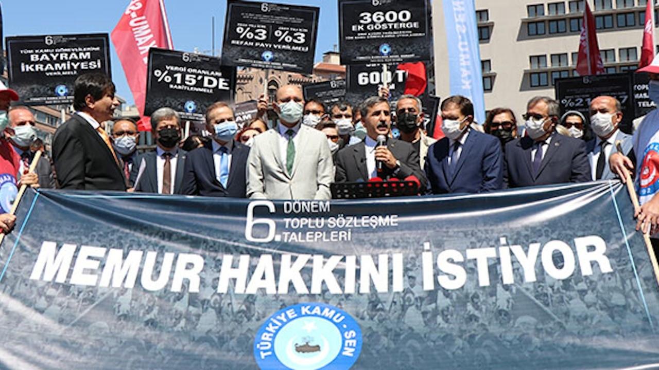 Türkiye Kamu-Sen: Hükümetin zam teklifi kabul edilemez, yenilenmeli