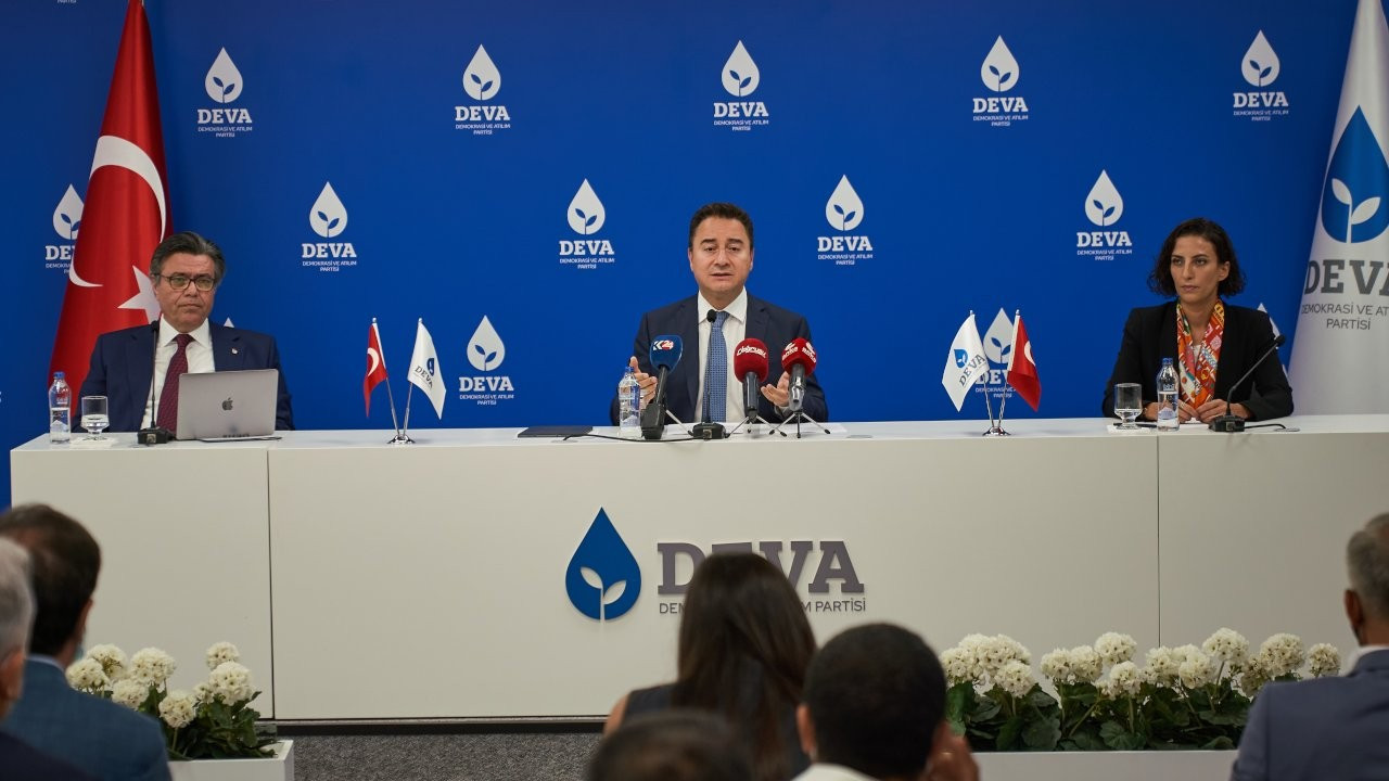 Babacan, DEVA Partisi'nin Afet Eylem Planı'nı açıkladı