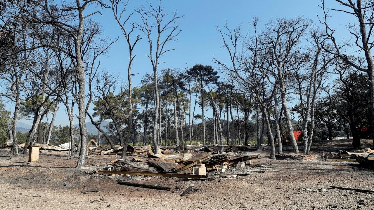 Fransa'da orman yangını: Binlerce kişi tahliye edildi