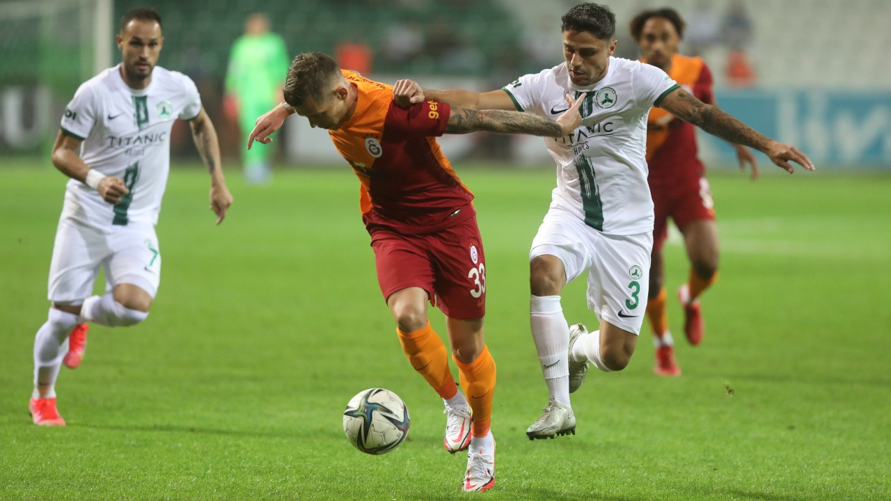 Olaylı maçta kazanan Galatasaray oldu