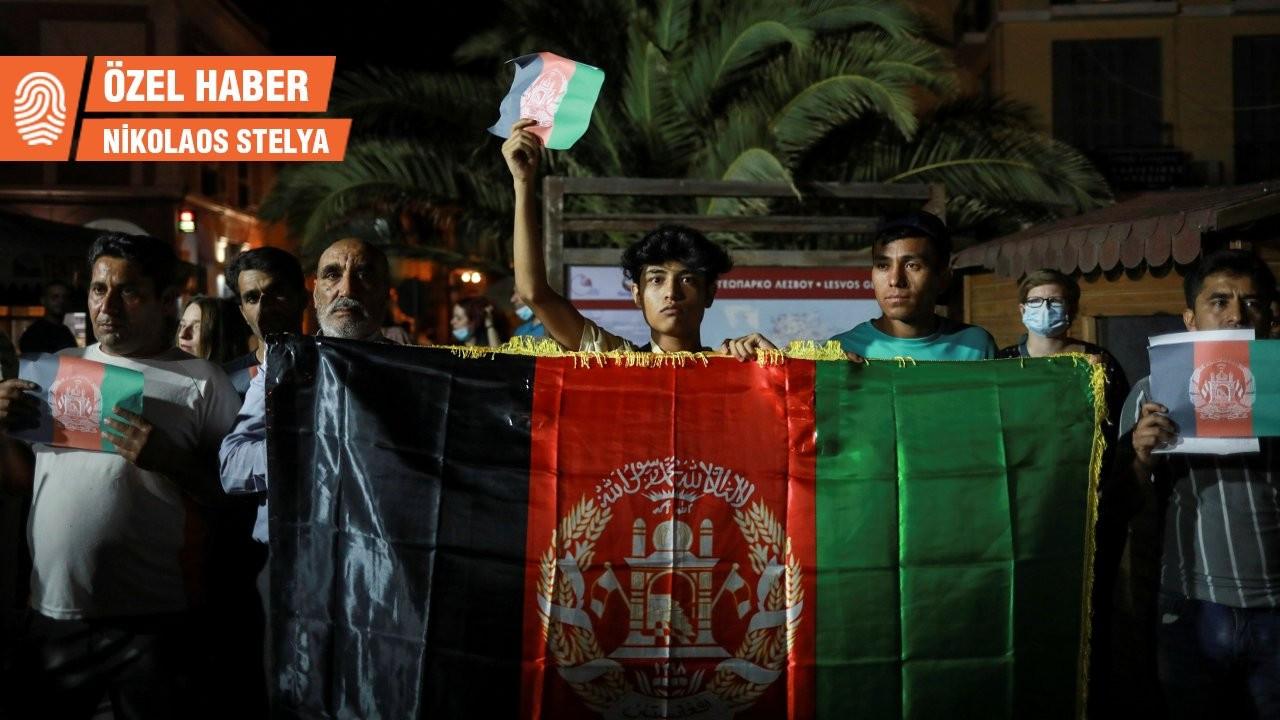 Yunanistan ordusu içinden Afgan sığınmacılar için bildiri