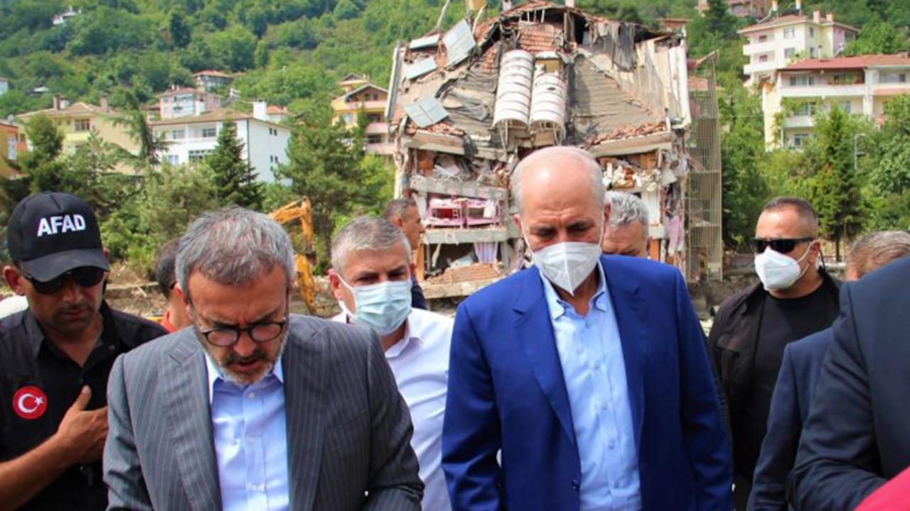 Kurtulmuş 62 kişinin öldüğü Bozkurt'ta: Türkiye başarılı sınav verdi