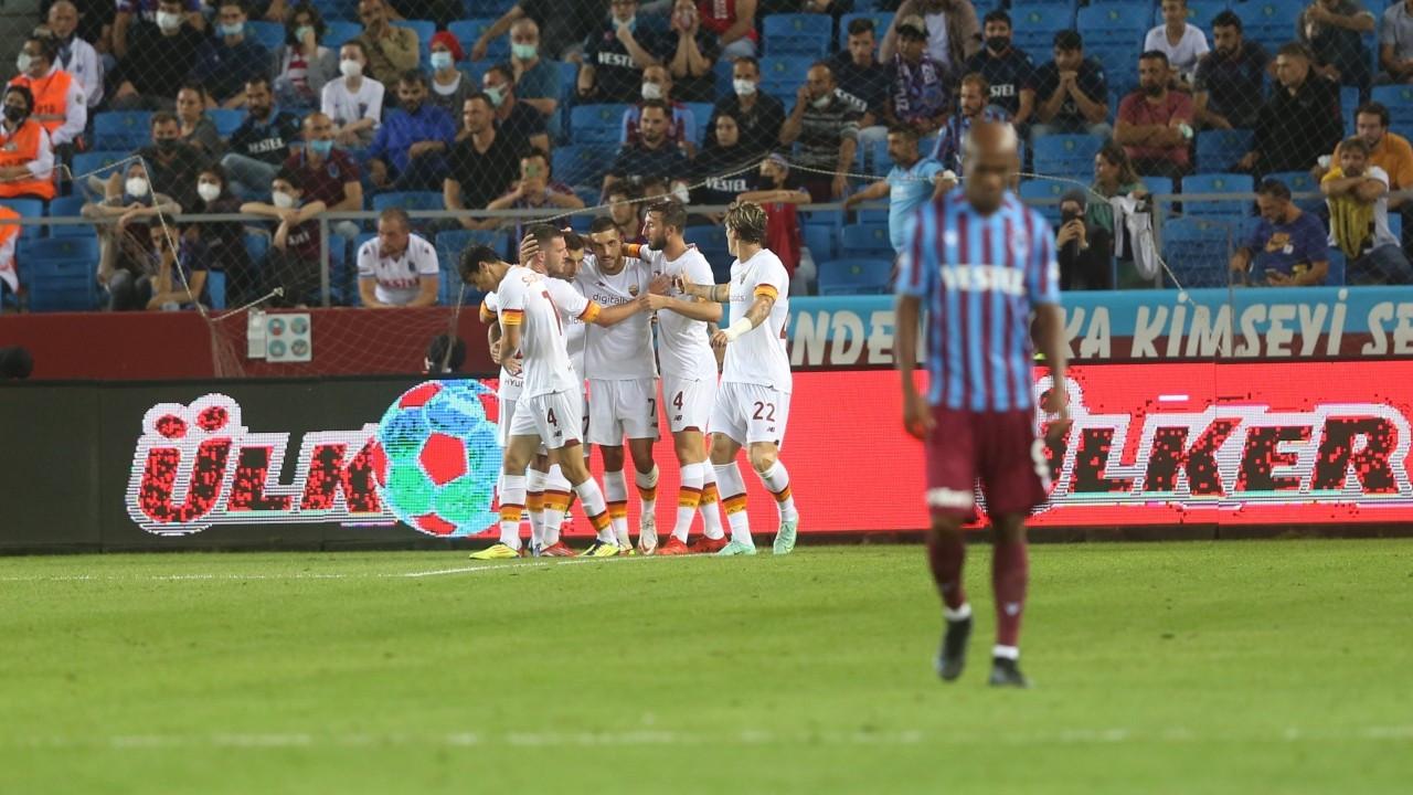 Trabzonspor, Roma'ya mağlup oldu: 2-1