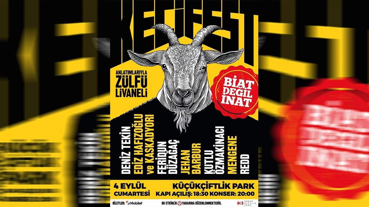 Keçi gibi inatçıların festivali KeçiFest 4 Eylül'de