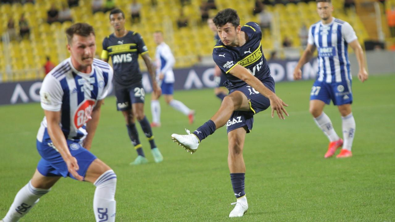 Fenerbahçe Helsinki karşısında genç Muhammed'le kazandı