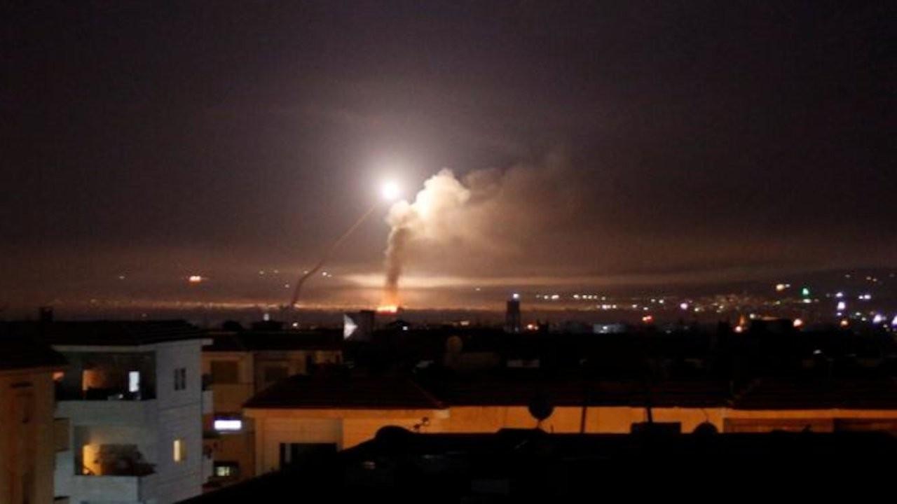 Suriye devlet ajansı: İsrail'in hava saldırısına karşılık verildi