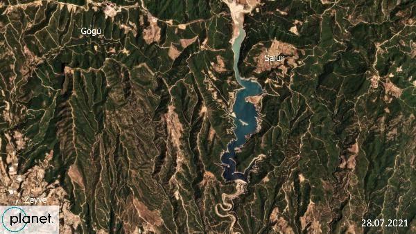 Greenpeace yanan alanların uydu görüntülerini paylaştı - Sayfa 3