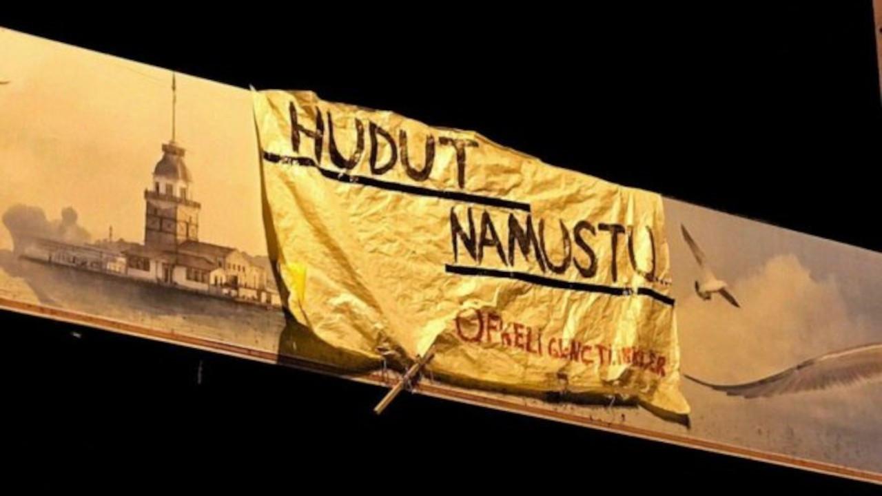 'Hudut namustur' pankartı asan Semir Yapıcı'ya saldırı