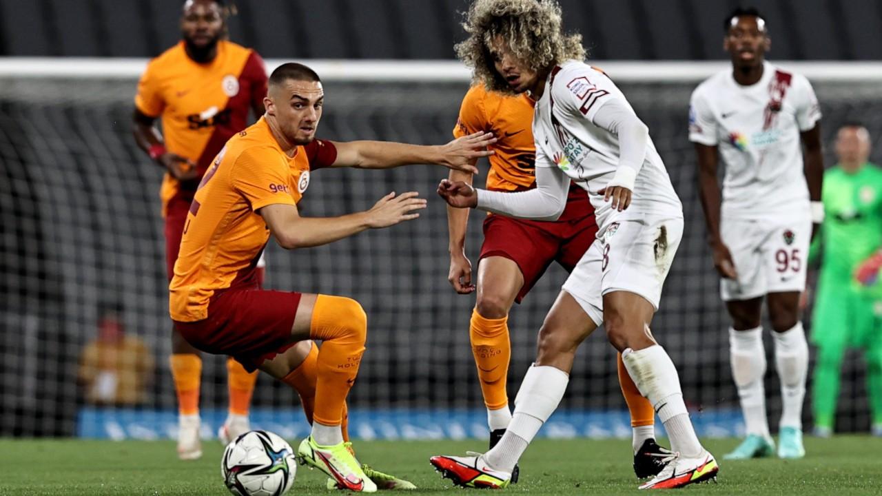 Galatasaray 3 puanı 88'de buldu