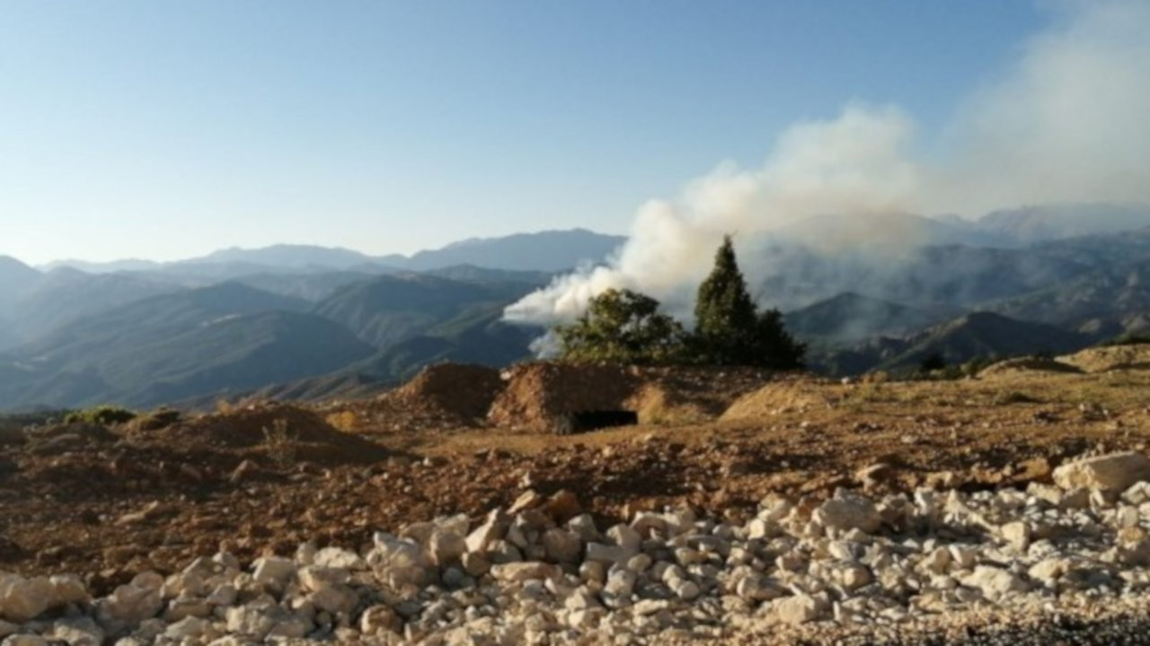 Hozat'taki yangın altı gündür sürüyor