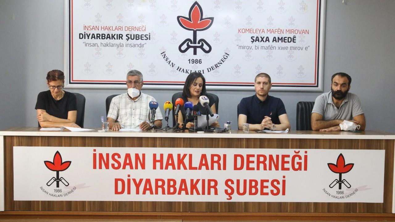 İHD Diyarbakır Şubesi: Hak ihlallerinde sistematik bir artış var