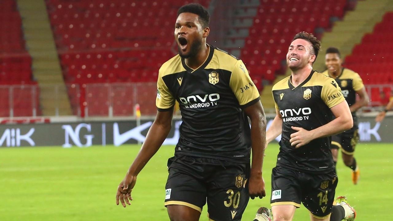 Yeni Malatyaspor deplasmanda tek golle kazandı