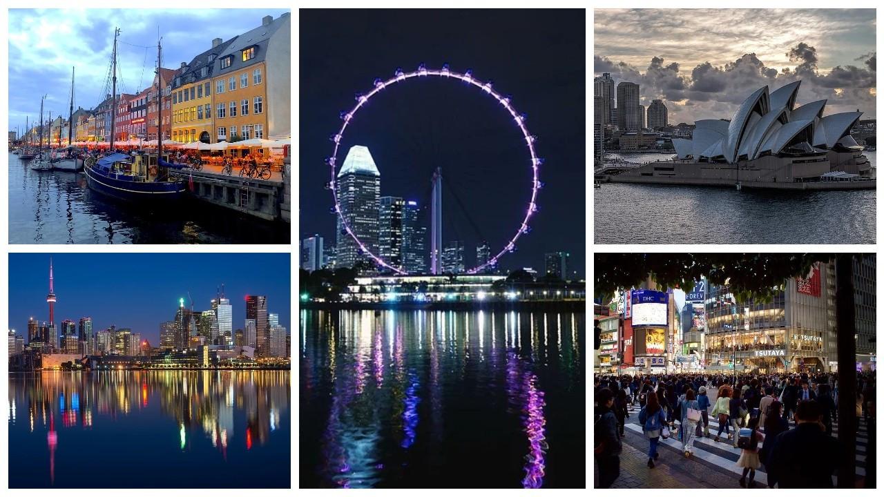Dünyanın en güvenli şehirleri belirlendi