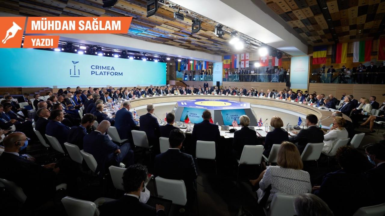 Kırım sorunu: Gaz aksın da toprak kısmını konuşuruz
