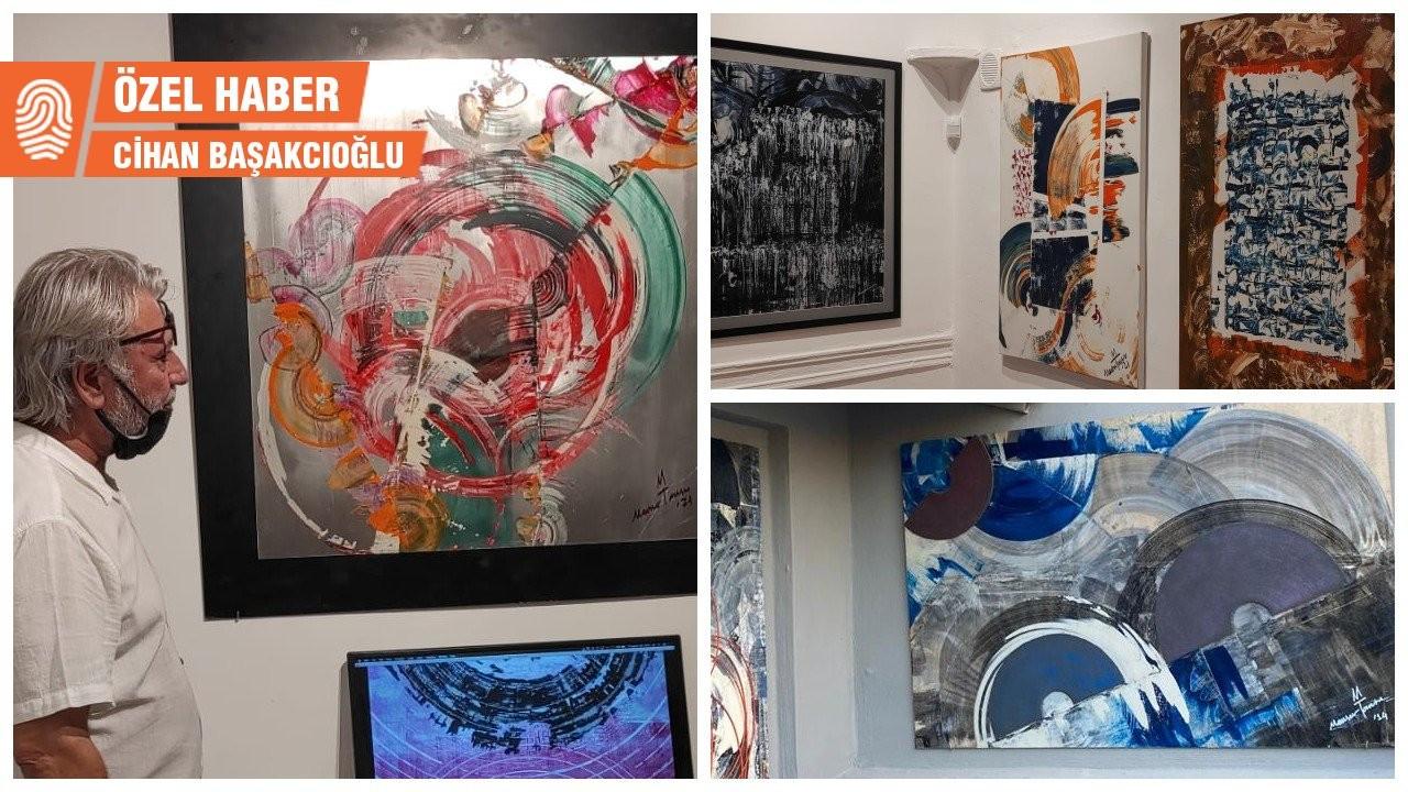 Ressam Mansur Tansu Gülaydın'ın 'InDaGroove' sergisi gösterimde