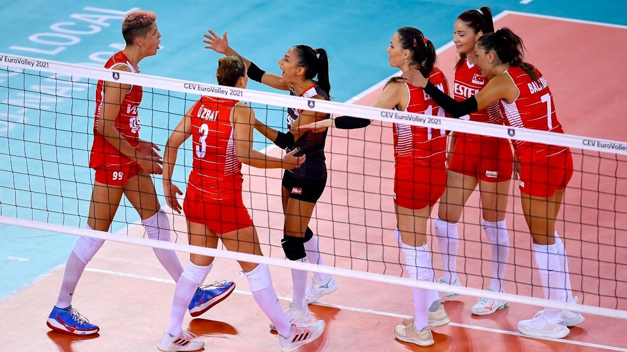 Türkiye Milli Kadın Voleybol Takımı, 8'li finallere yükseldi