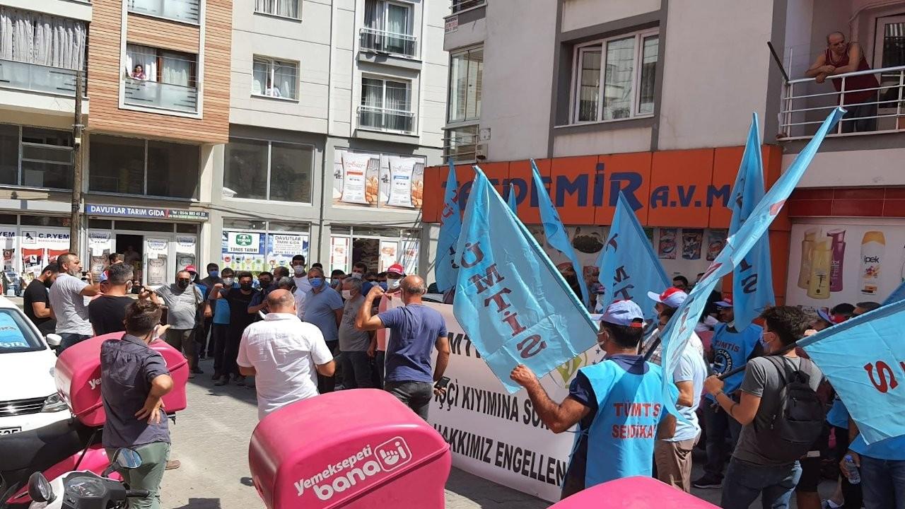 TÜMTİS'ten Yemeksepeti'ne: Hani işçi haklarına saygılıydınız?