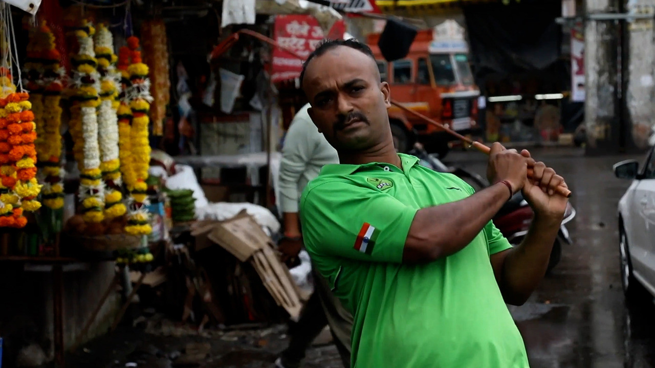 Hindistan'da 'gecekondu golfü' akımı