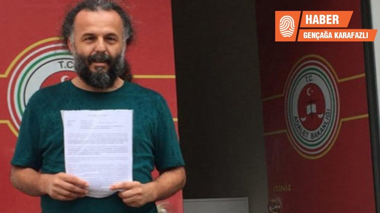 Vicdani retçi Şendoğan Yazıcı'ya iki davadan mahkumiyet