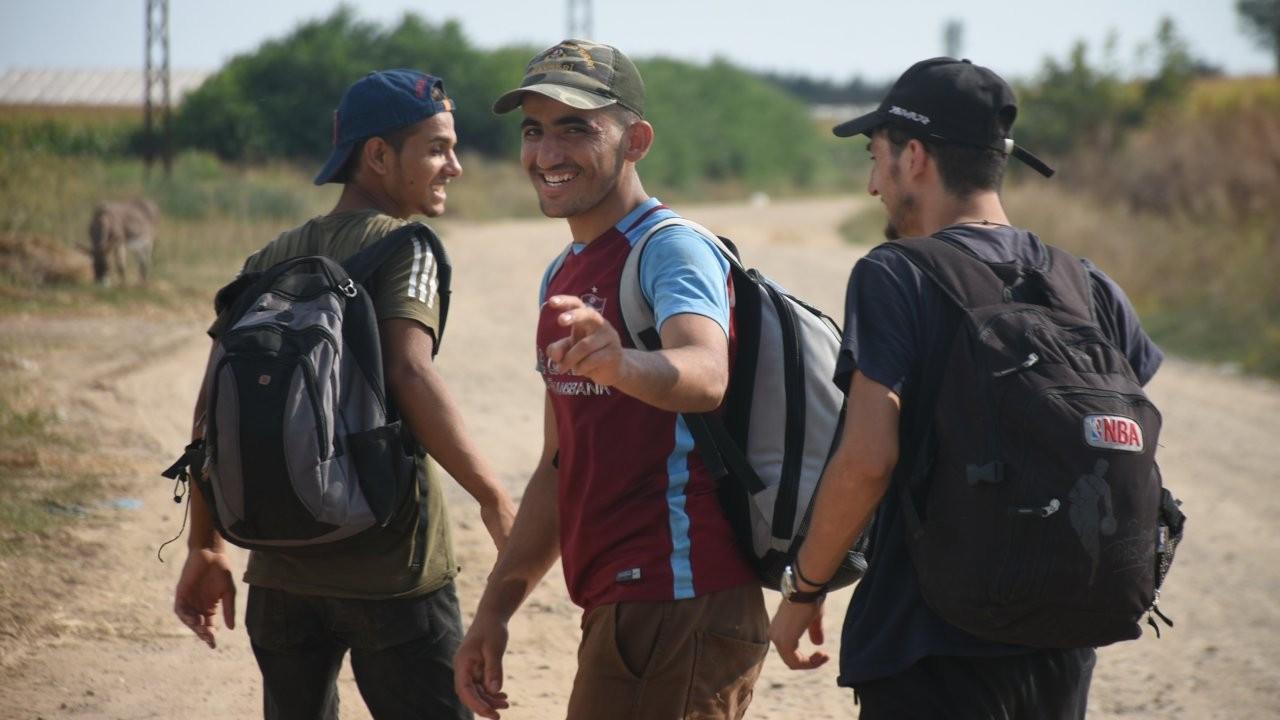 Edirne'ye gelen Afgan mülteciler geri gönderiliyor