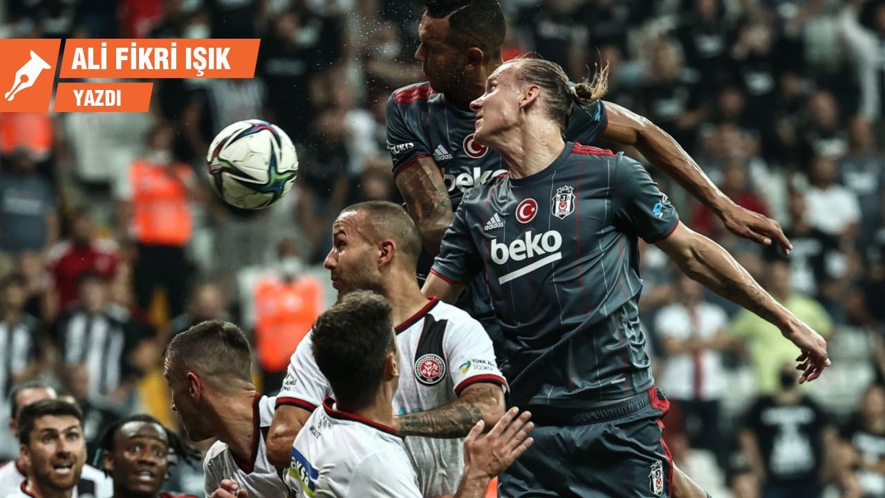 Karagümrük oynadı Beşiktaş kazandı