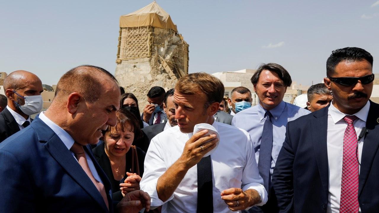 Macron Erbil'de IŞİD'in öldürdüğü peşmergenin ailesini ziyaret edecek