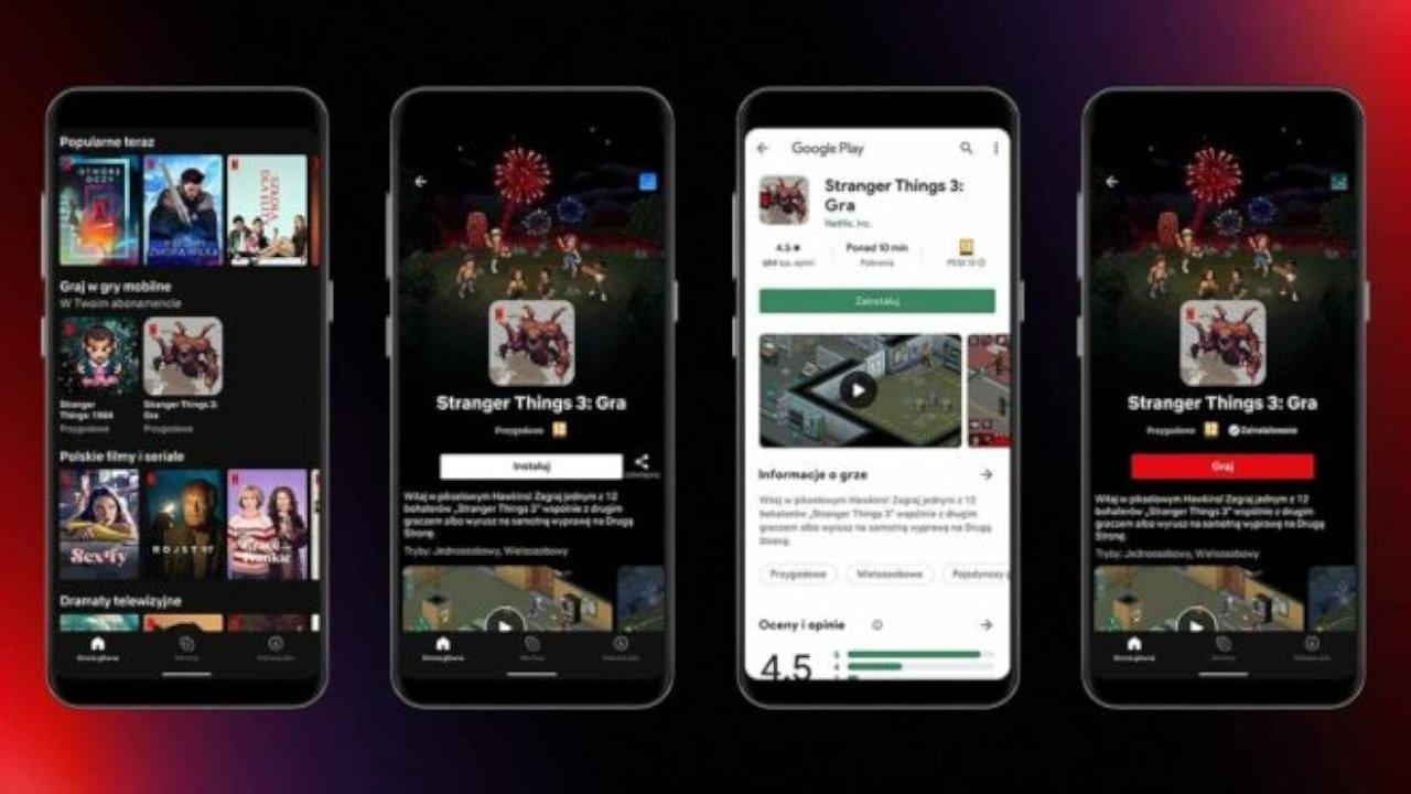 Netflix'ten mobil oyun servisi: Oyunlar Polonya'da deneyime açıldı