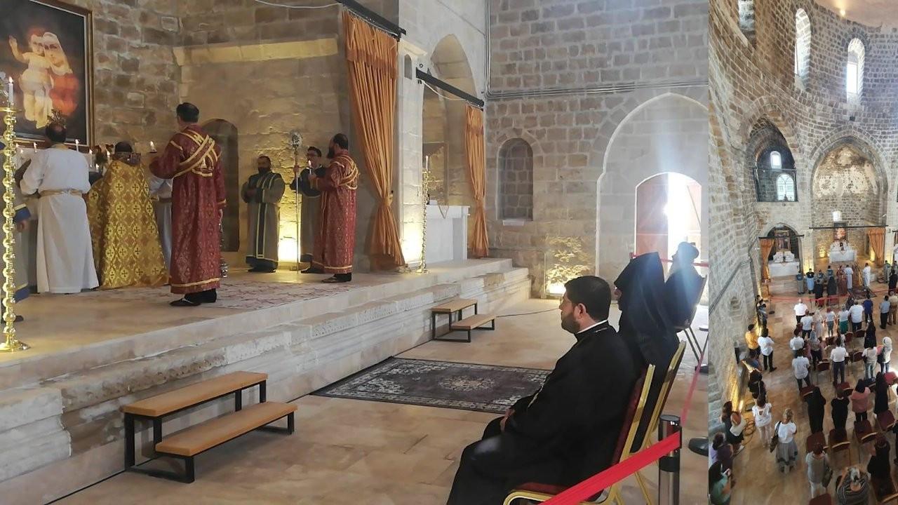 Üç Horan Kilisesi'nde 106 yıl sonra ilk ayin