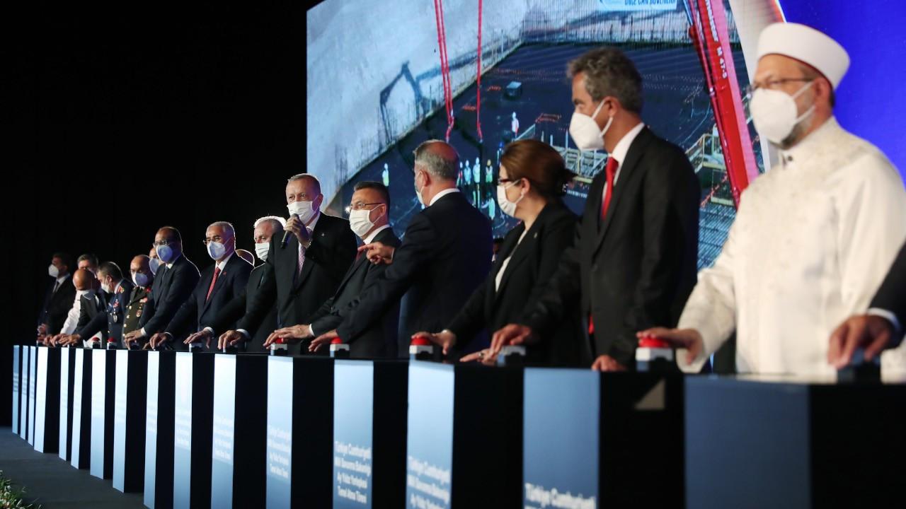 Erdoğan: Artık sağda solda bir MSB bir TSK olmayacak