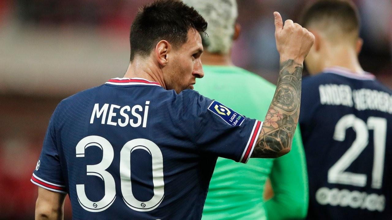 Messi, PSG formasıyla ilk kez sahaya çıktı