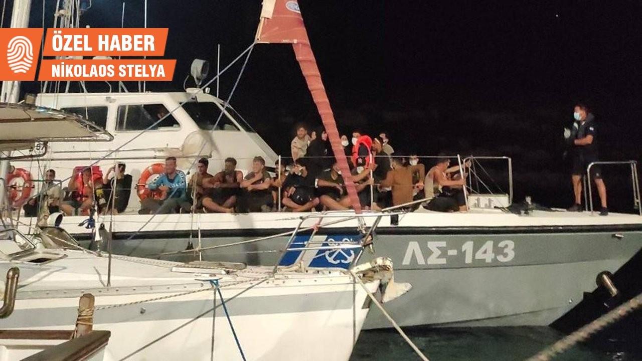 Komşu kıyılarda yüzlerce yeni Kürt sığınmacı