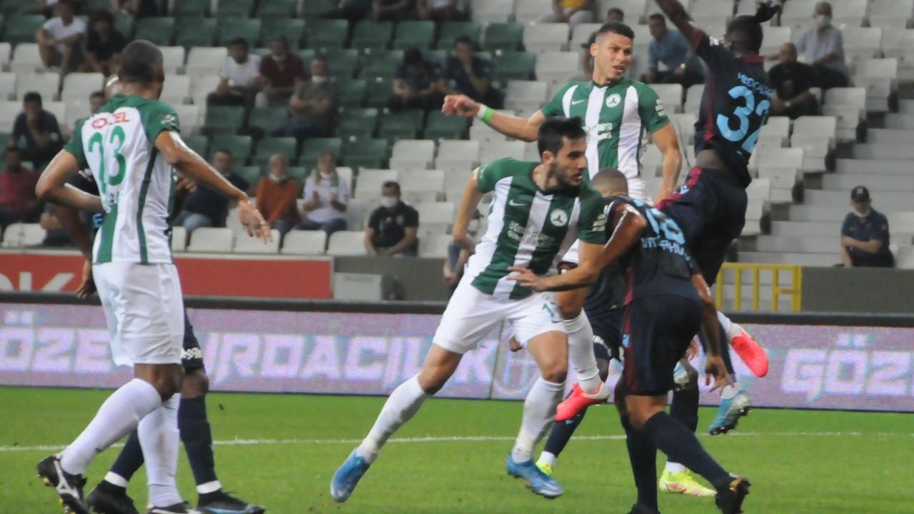 Trabzonspor Giresunspor'u sahasında 1-0 yendi
