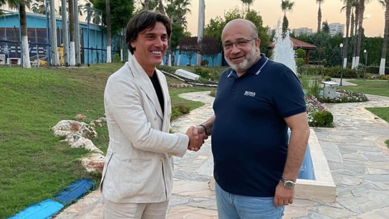 Adana Demirspor'da Vincenzo Montella göreve başladı
