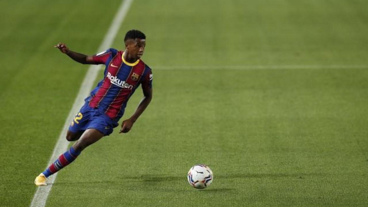 Messi'nin 10 numarası artık Fati'nin