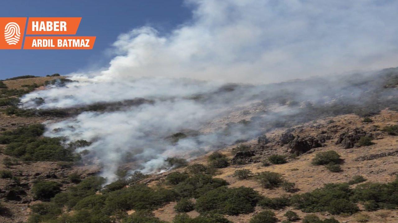 Bingöl'deki yangın yerleşim yerlerine yaklaştı