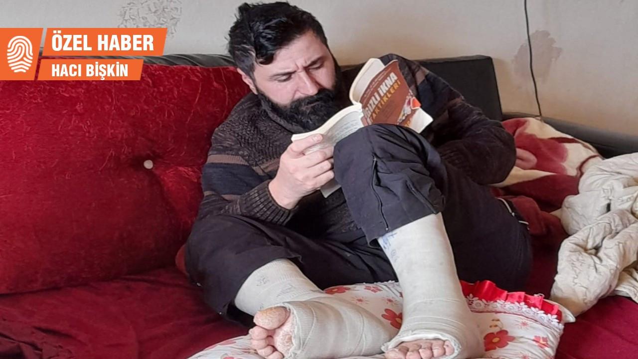 Patron kaza geçiren işçiyi muhatap almadı: Maaş yok, tedavi yok