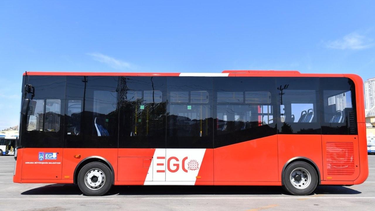 19 yeni otobüs başkentin yollarına indi