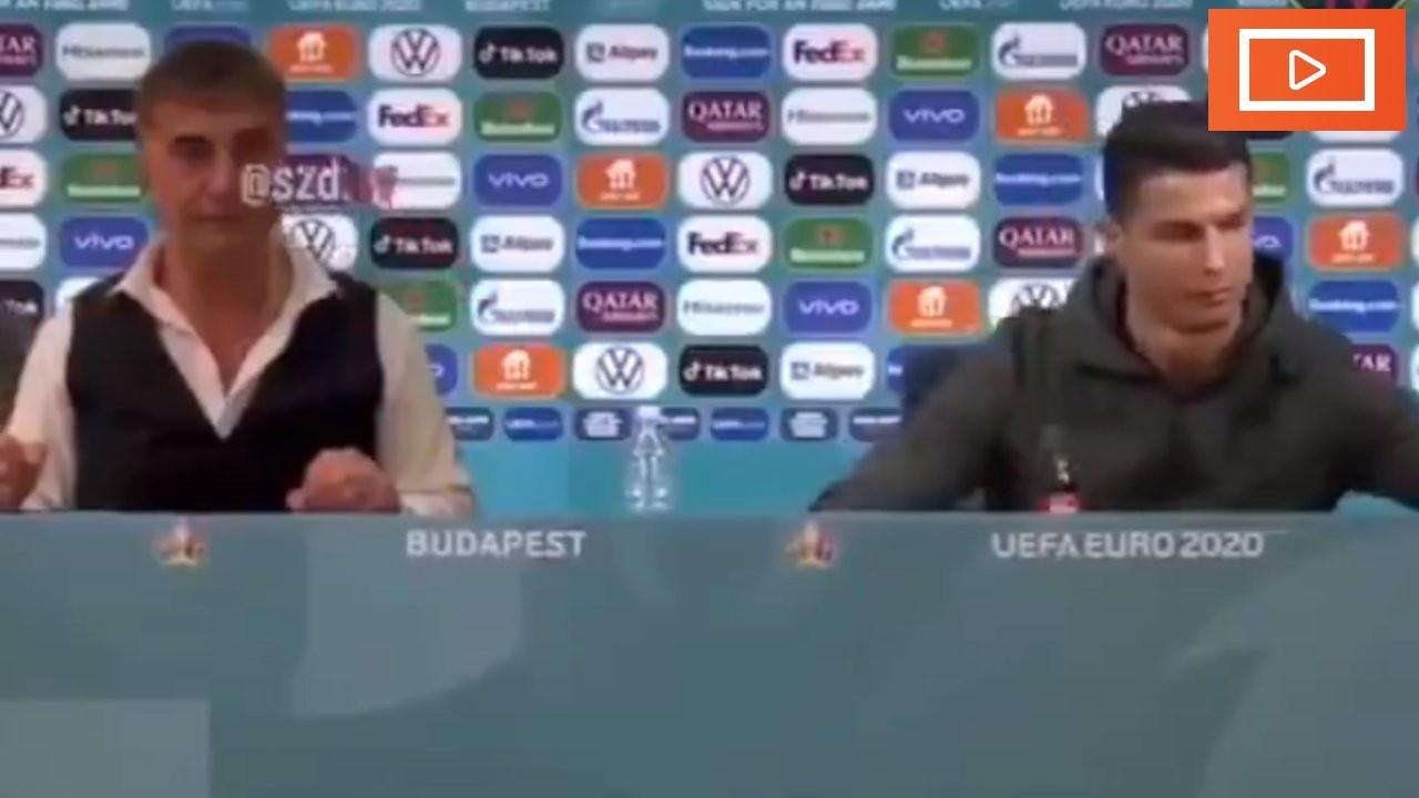 Sedat Peker, Ronaldo'lu videosunu paylaştı