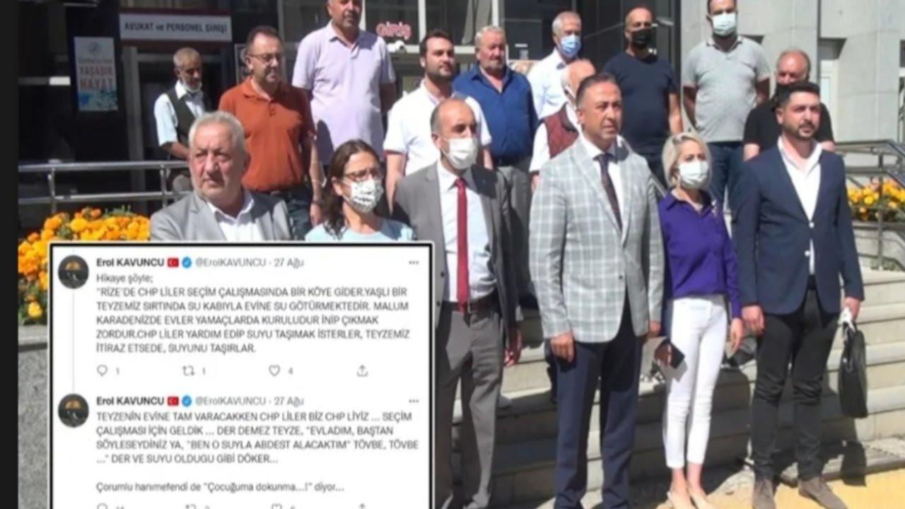AK Partili vekilin 'abdest' paylaşımı için suç duyurusu