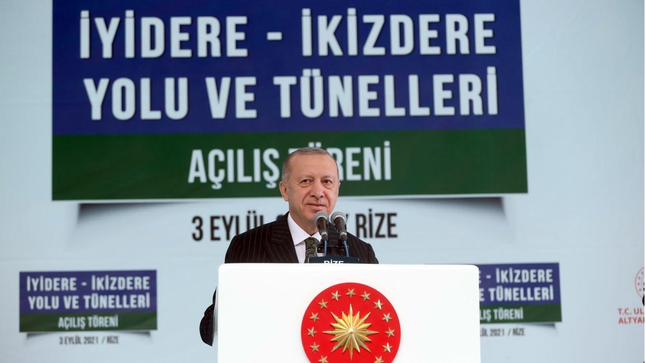 Erdoğan İkizdere'de: Ne kadar sol, komünist varsa buraya geliyor