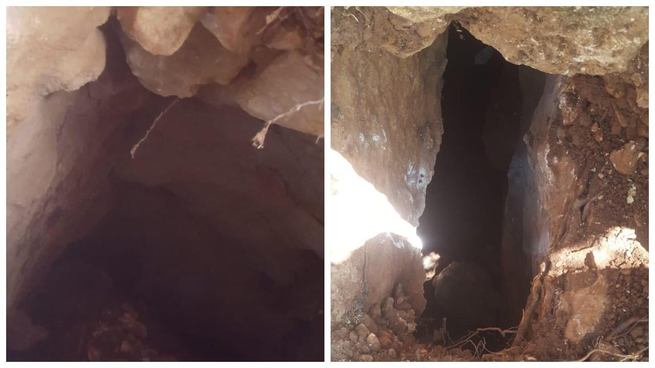 Foseptik çukuru kazarken Orta Çağ'a ait tünel buldu