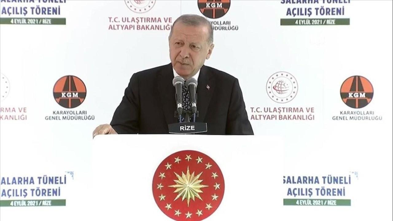 Erdoğan: Rize'nin uşakları bu ana muhalefete pabuç bırakmaz
