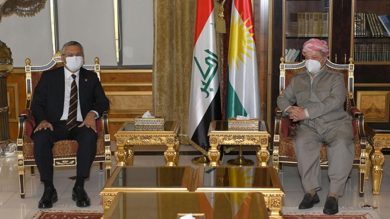CHP heyeti ile Barzani görüştü: Sürekli iyi ilişkiler arzuluyoruz