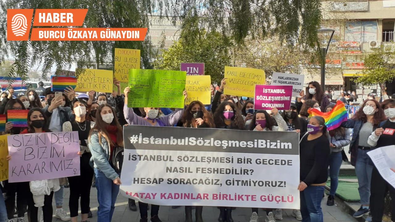 Hatay'da kadınlara 'emre itaatsizlik'ten ceza